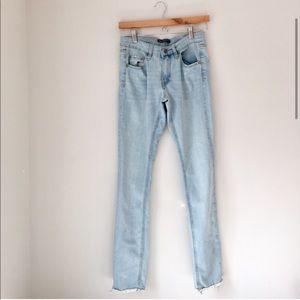Brandy Melville Frayed Hem Jeans